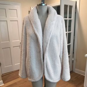 LOFT soft white jacket